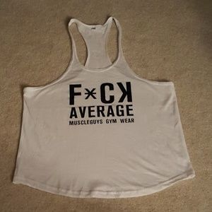 Other - Mens White Tank Top/Stringer Medium NWOT